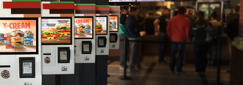 Self-Service Restaurant Kiosk